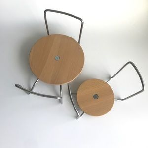 Ikea Variera Bamboo Plate holders - set of 2